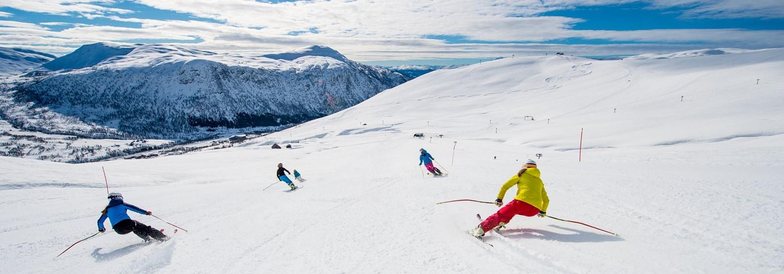 ski resort norge - hafjell