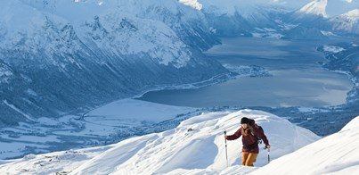 SKI TOURING HOLIDAY ROMSDAL NORWAY