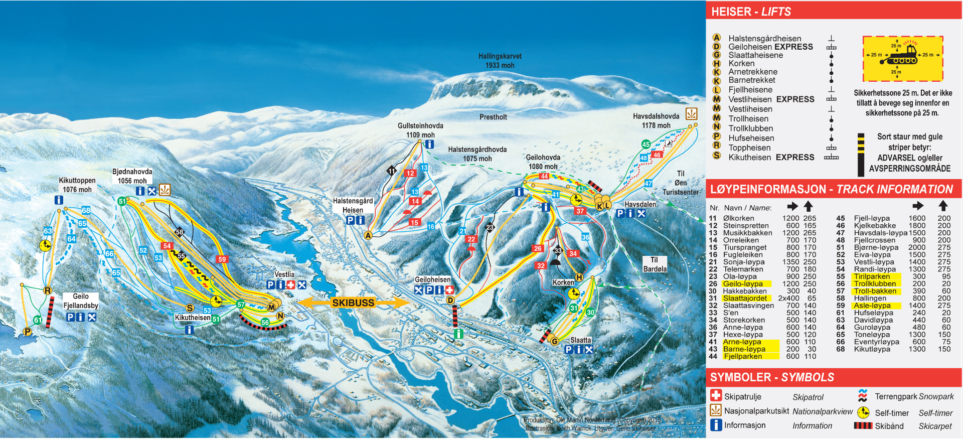 Ski In Geilo Family Skiing Ski Norway - Norway map mountains